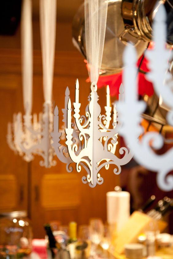 candelabros para fiestas