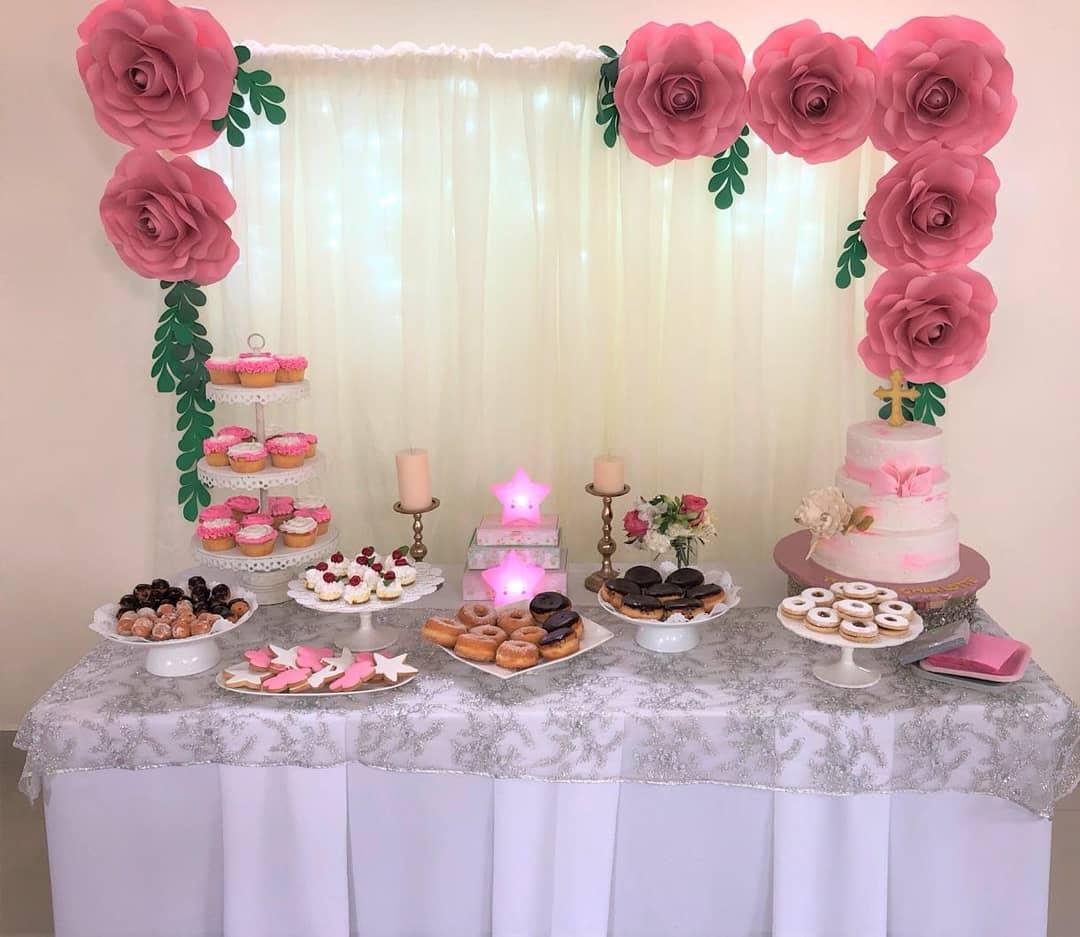 Como decorar mesa de dulces para fiestas
