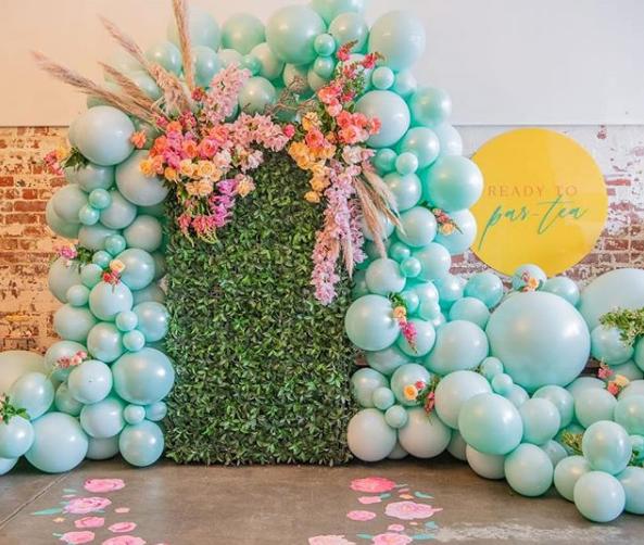 Como hacer arcos organicos de globos
