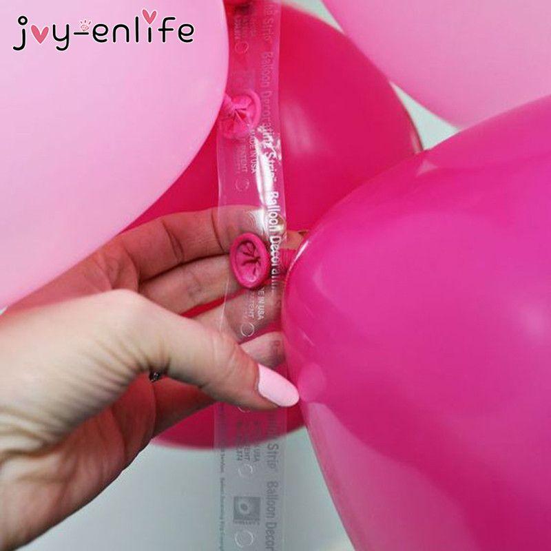como hacer un arco organico de globos