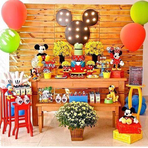 cumpleaños de mickey mouse para nino