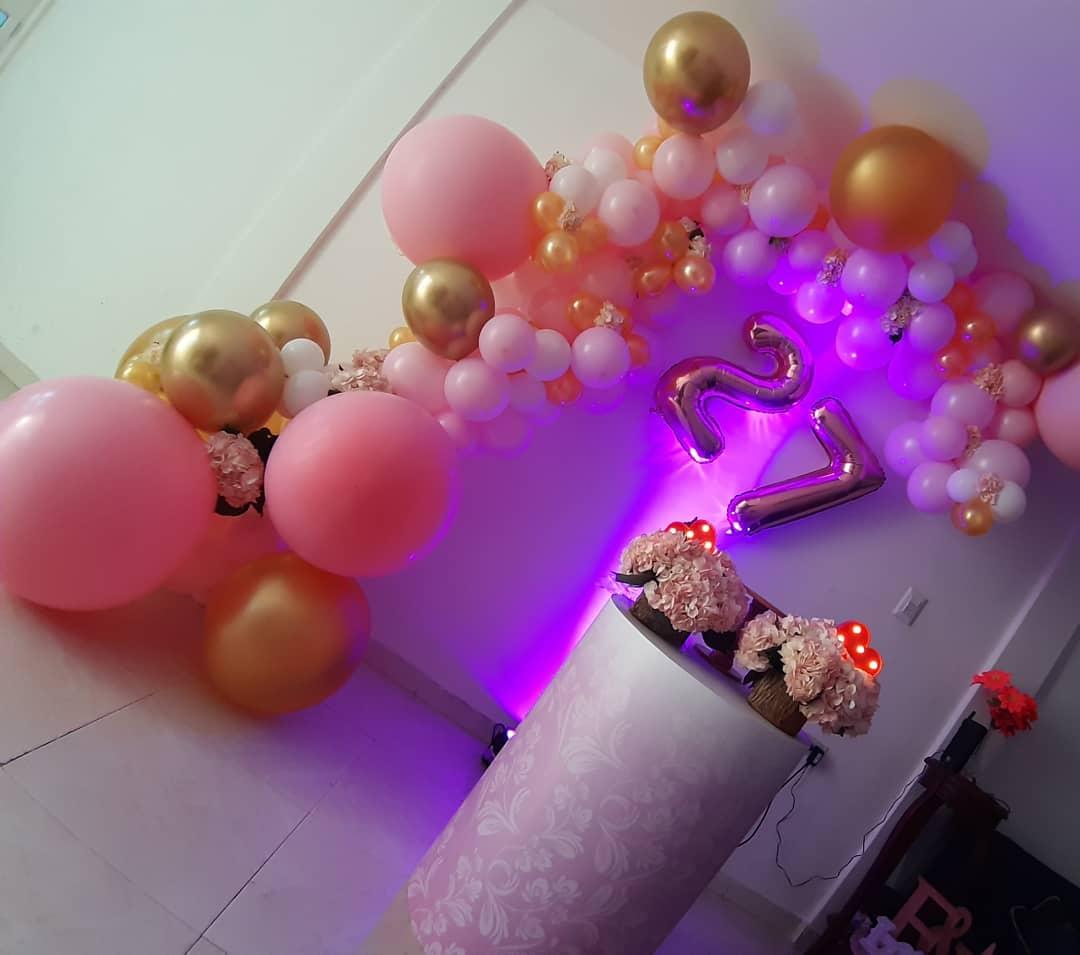 decoracion de fiestas para mujeres