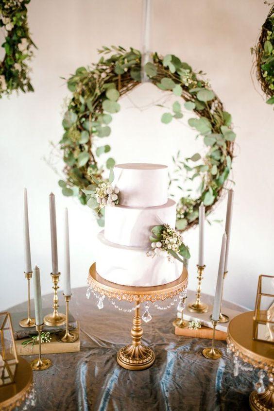 decoracion de mesa del pastel