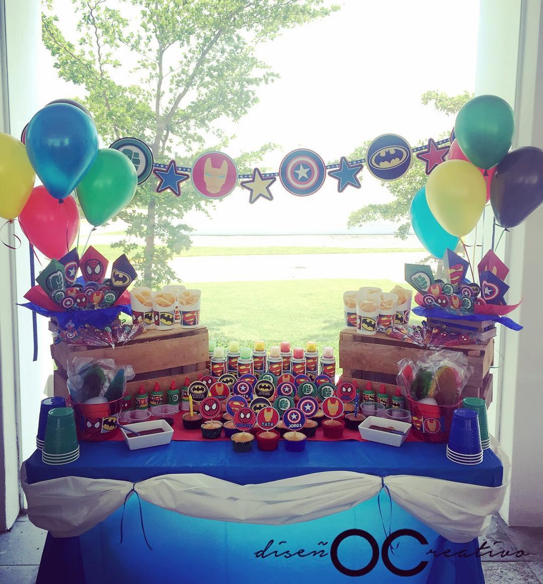 Decoracion mesa de dulces para fiestas
