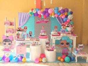 fiesta de cumpleaños lol sorprise