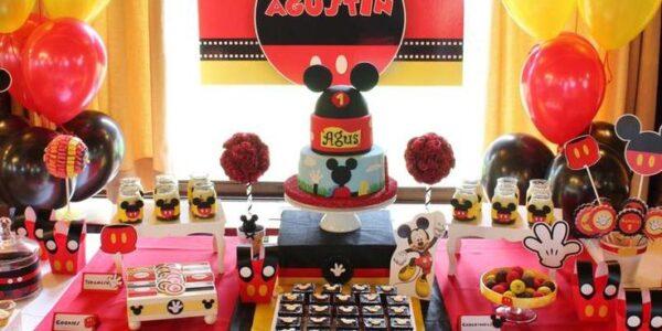fiesta de de mickey mouse