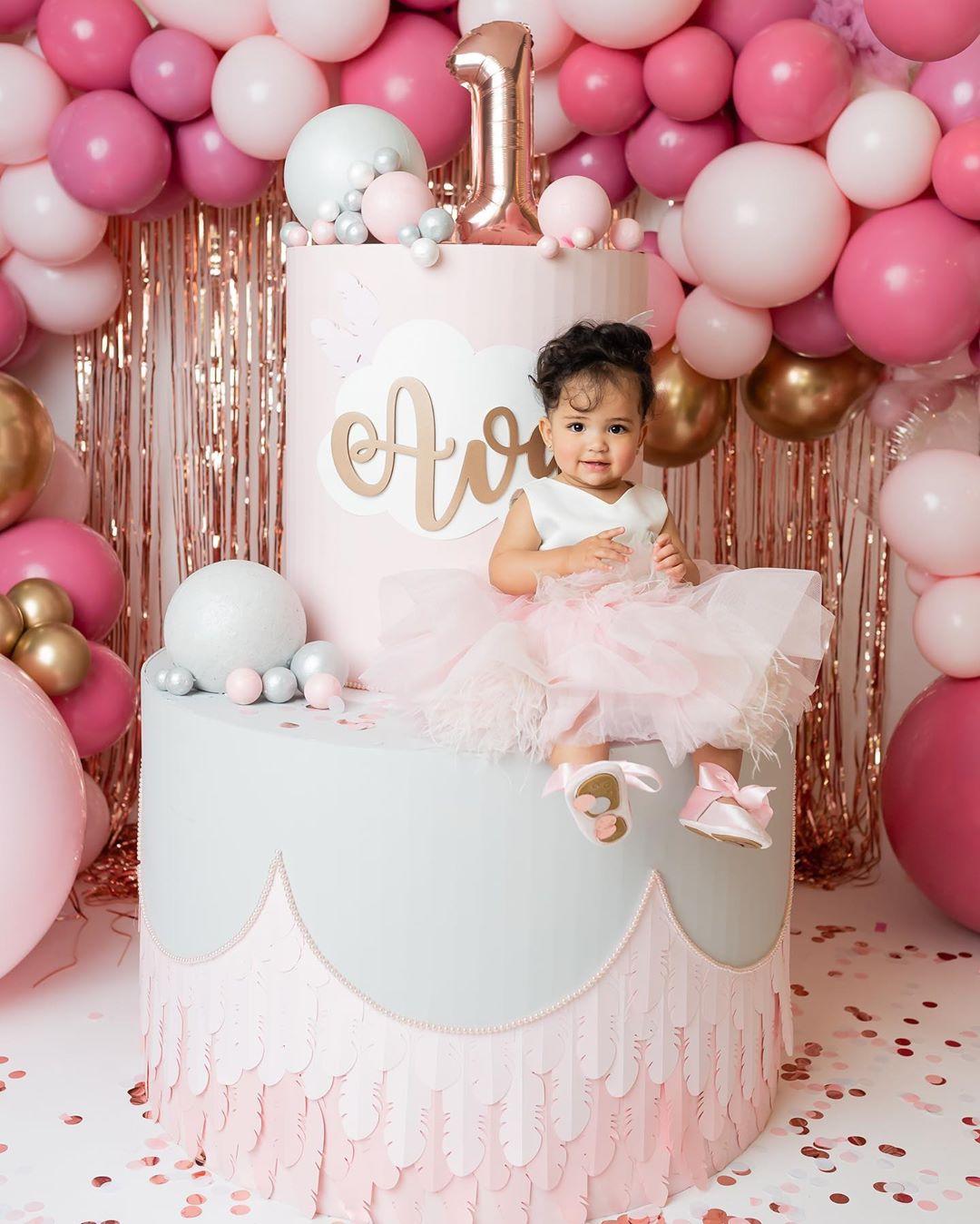 fiesta de niña 1 año decoracion