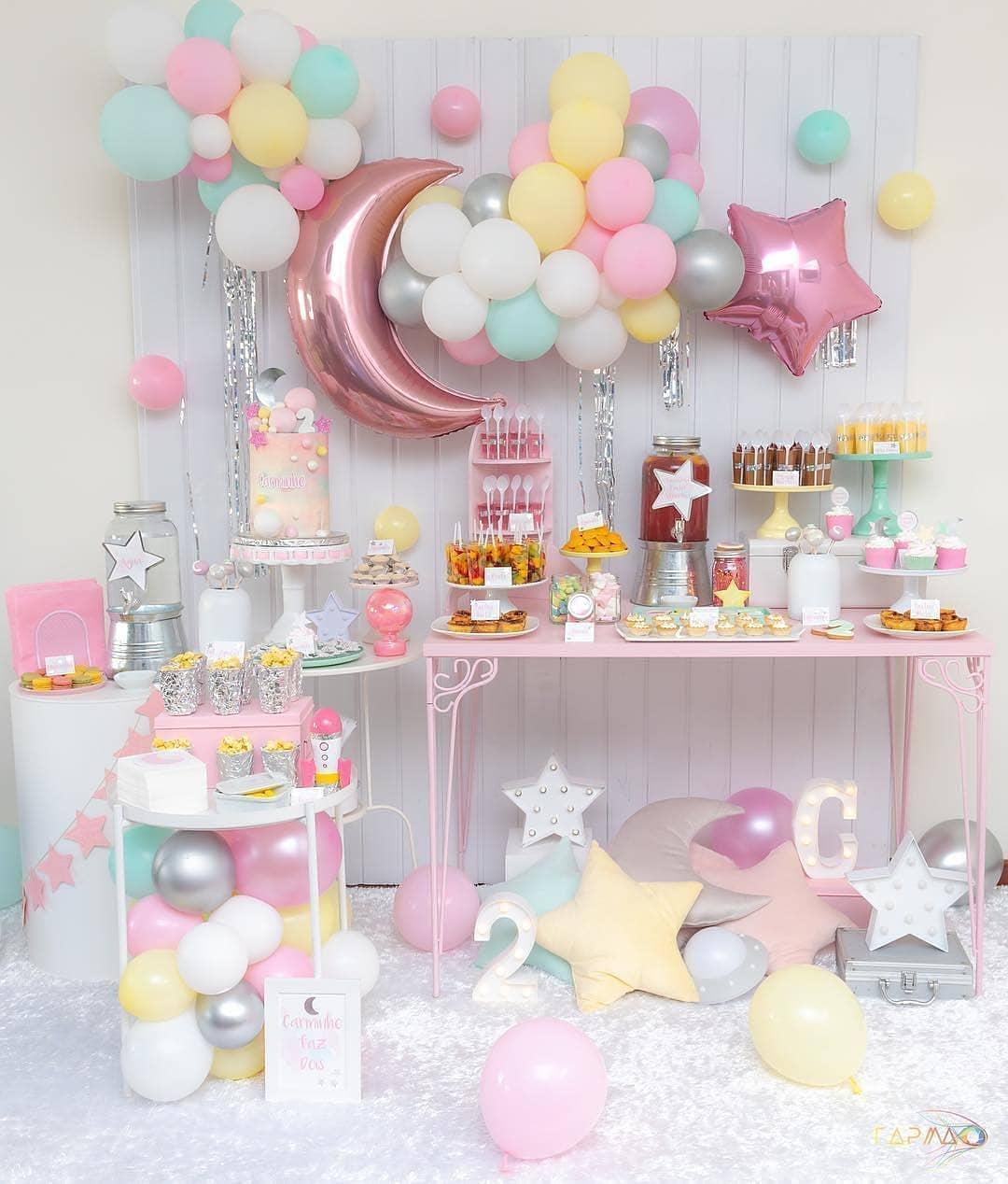 fiesta de niña 1 año ideas