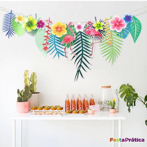 fiesta de tropical de mujeres
