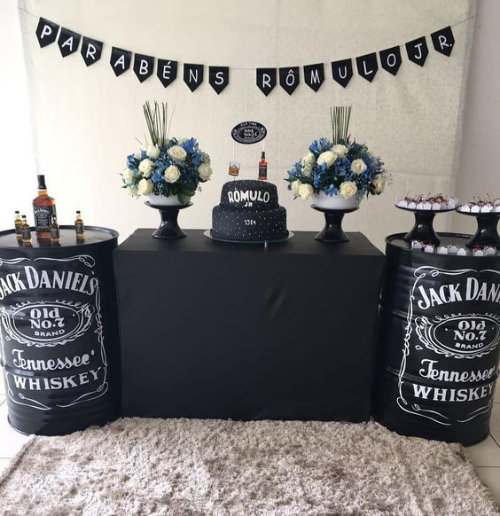 fiesta tematica de jack daniels