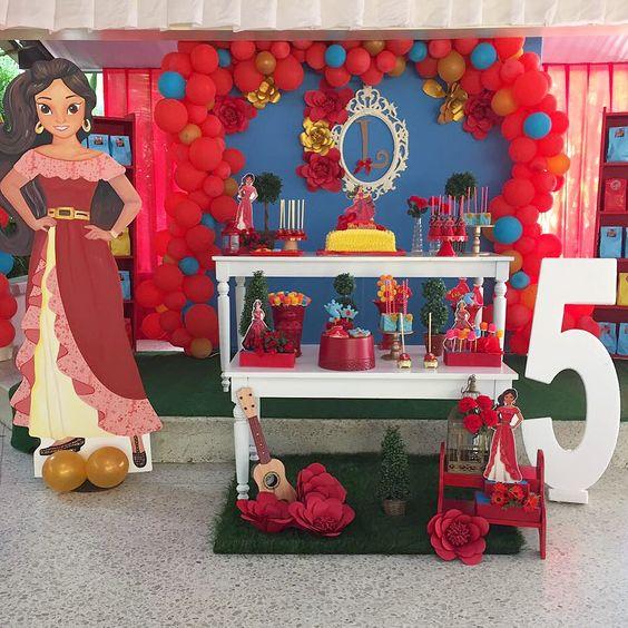fiesta tematica de la princesa elena de avalor