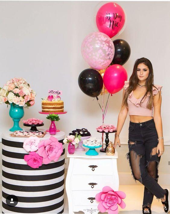 fiestas para mujeres con tematica de globos
