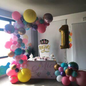 ideas para decorar fiesta de 1 año niña