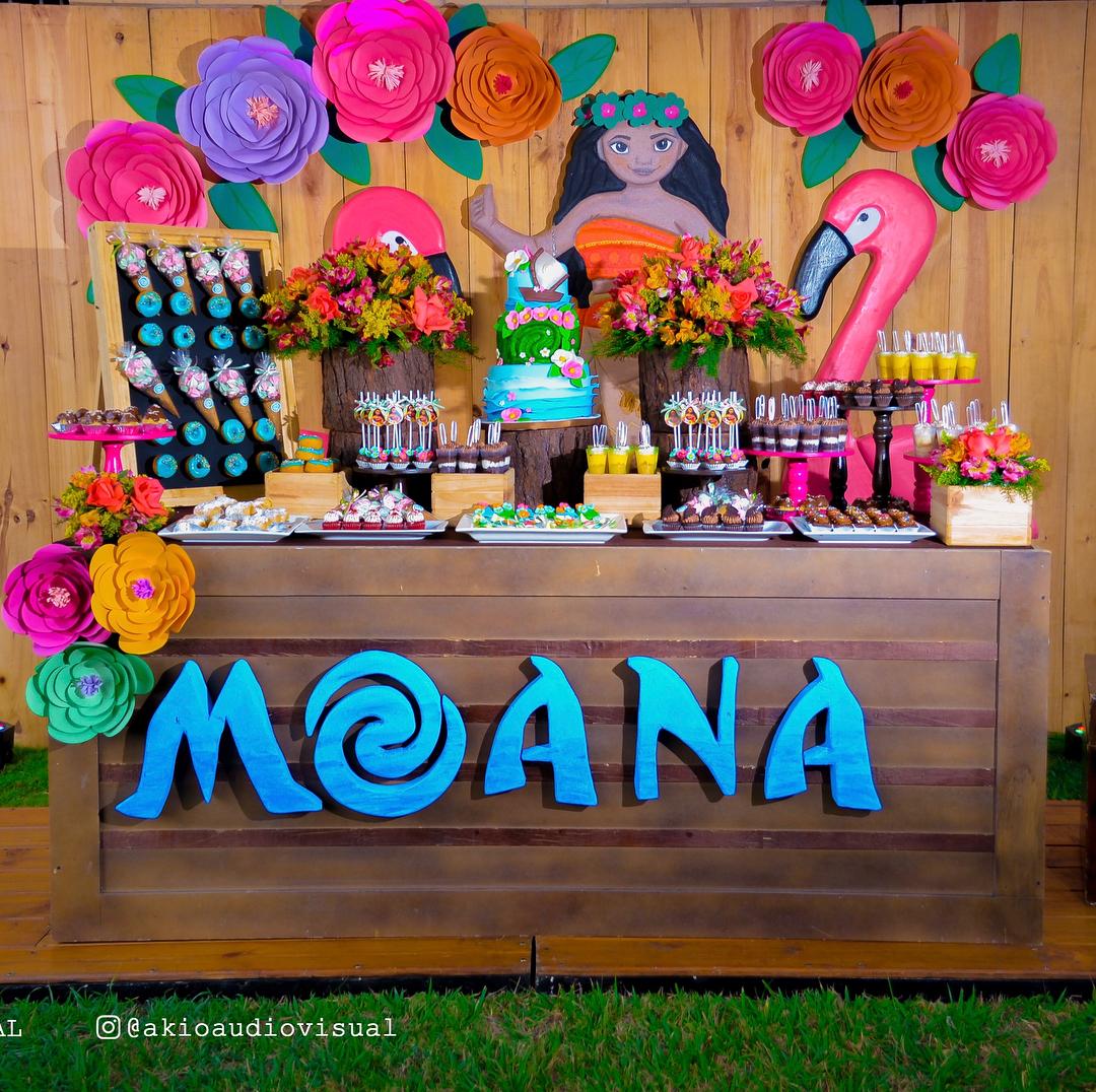 Ideas para fiesta de moana hawaiana