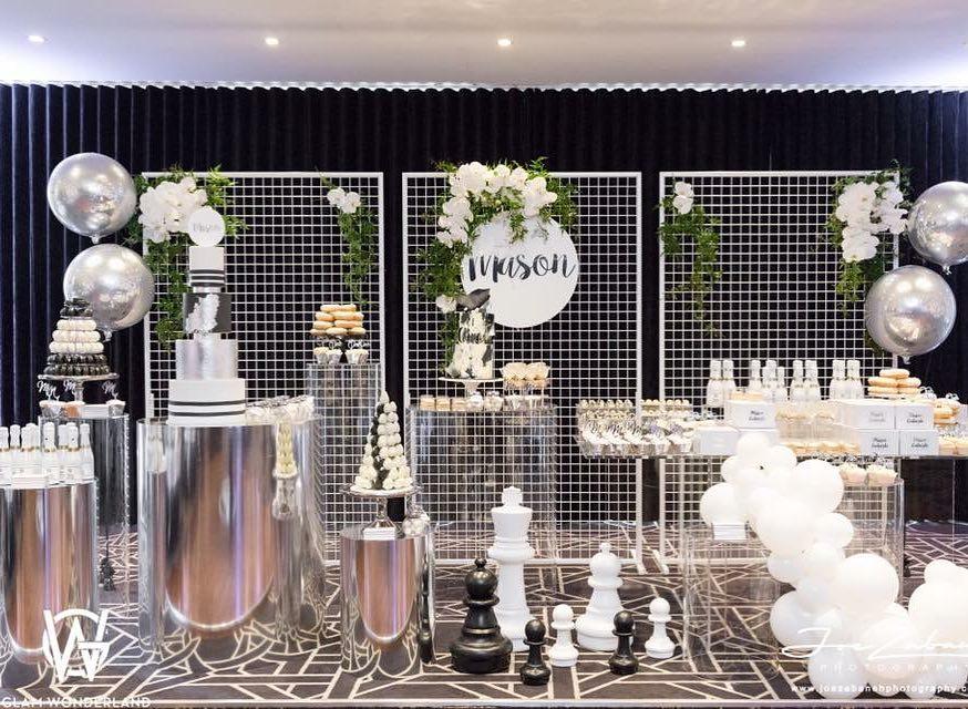 Decoración con mesas de moda para eventos 2019