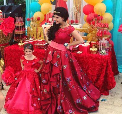 Outfits para mamás en fiestas infantiles