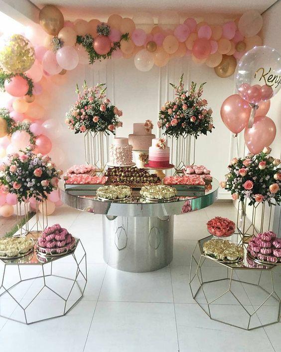 que son las mesas de dulces o de postres