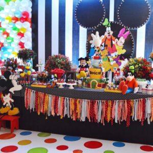 tematica para fiesta de la casa de mickey mouse