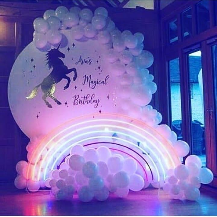tematica para fiesta de unicornio