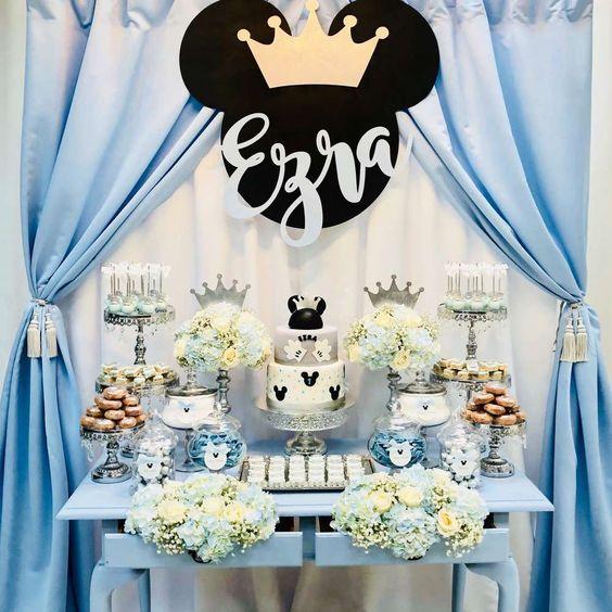 Fiesta De Cumpleaños De Mickey Mouse Guía Para Su Decoración
