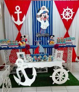 tematica para fiestas mickey nautico