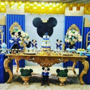 tematica para fiestas mickey rey - royal
