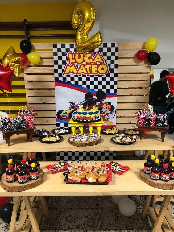 Fiesta De Cumpleanos De Mickey Mouse Ideas Para Las Fiestas