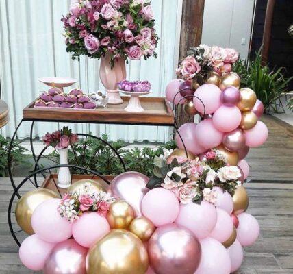tipos de mesas para decorar eventos
