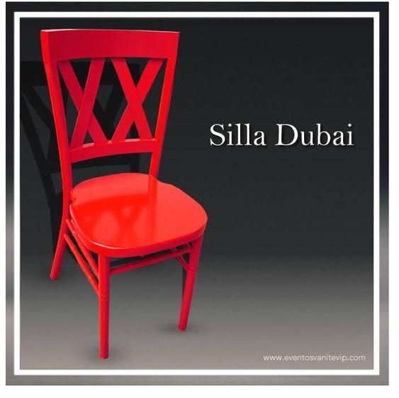 tipos de sillas para organizar eventos