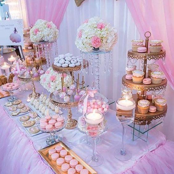 bases para cupcakes para fiesta de 15 anos