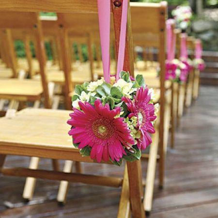 como decorar sillas para fiesta en jardin