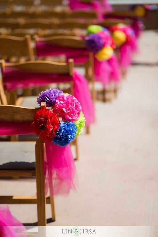 decoracion de sillas para Fiestas de XV años