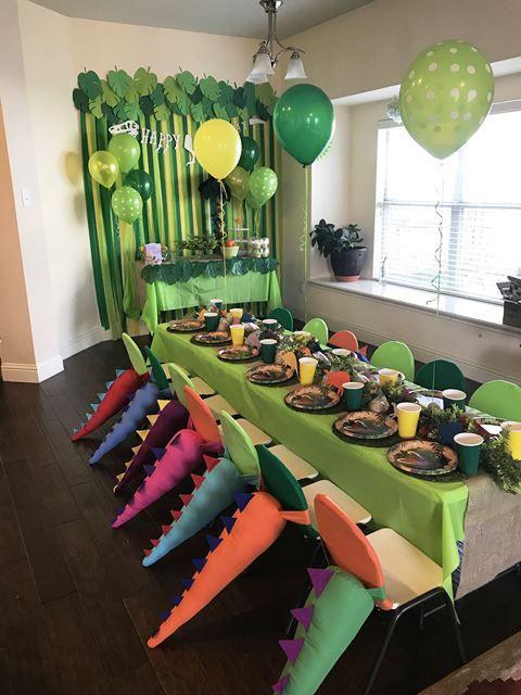decoracion de sillas para fiestas infantiles