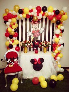 fiesta infantil tematica de minnie mouse