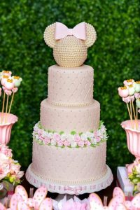 pasteles para fiestas tematicas de minnie