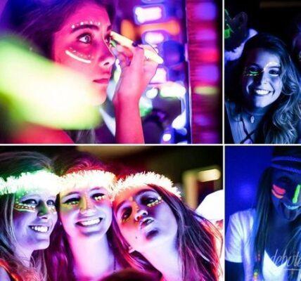 accesorios luminosos neon para fiestas