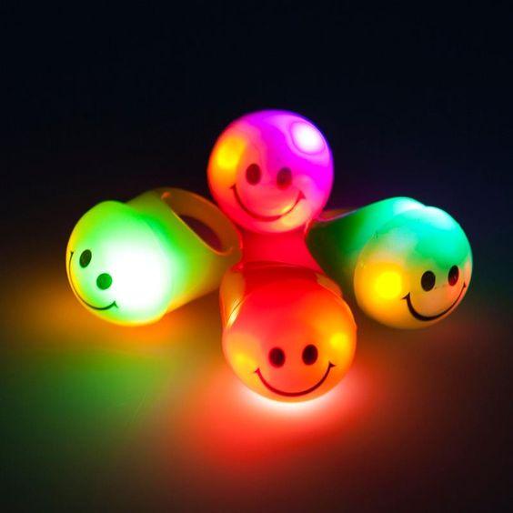 anillos neon led para fiesta