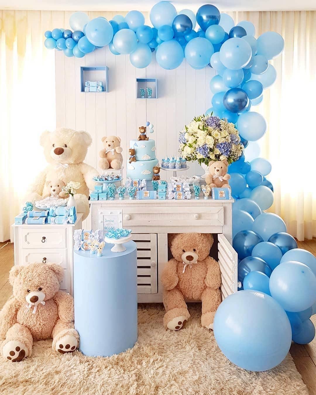 baby shower de osos para niño