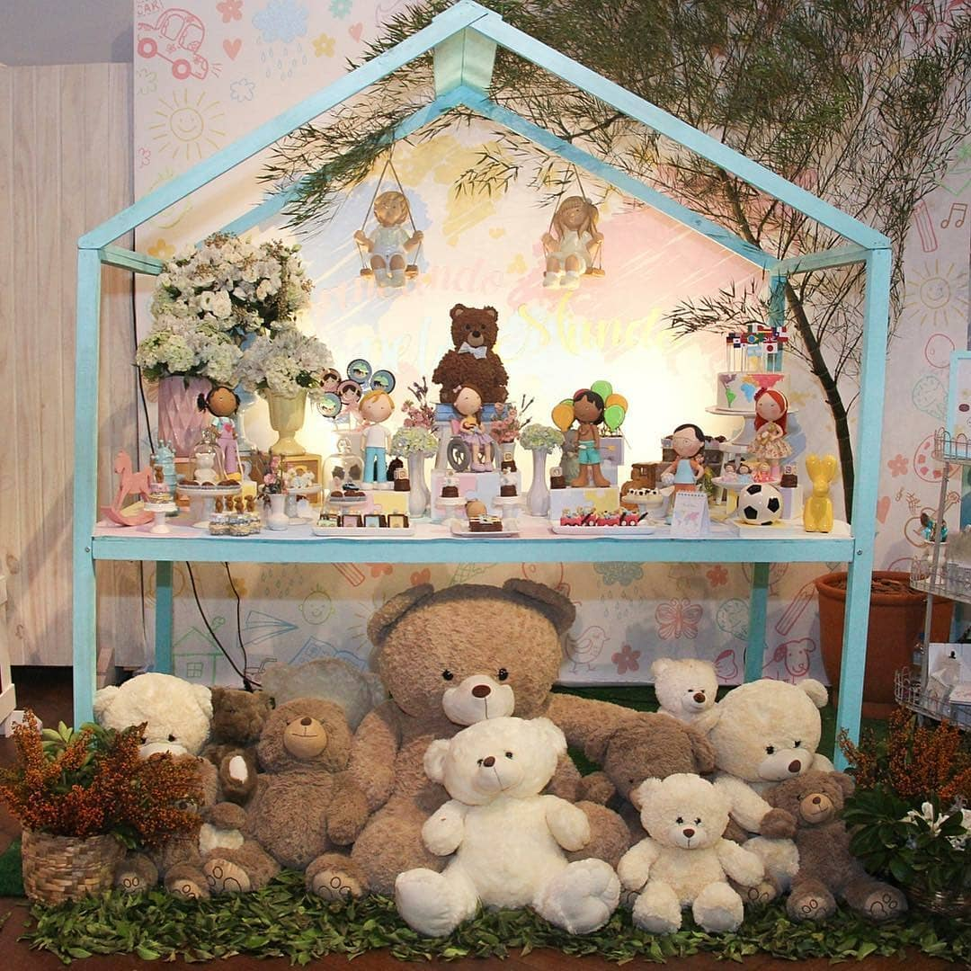 baby shower de osos unisex