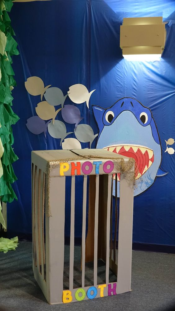 backdrops baby shark