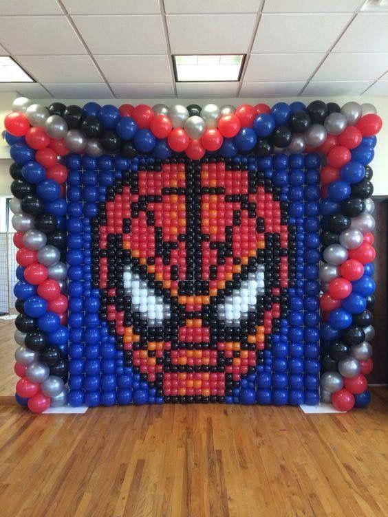 backdrops para fiesta tematica de spiderman