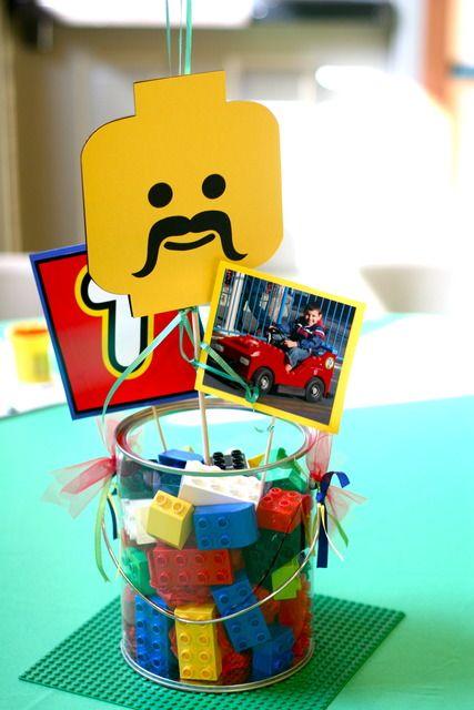 centros de mesa de lego