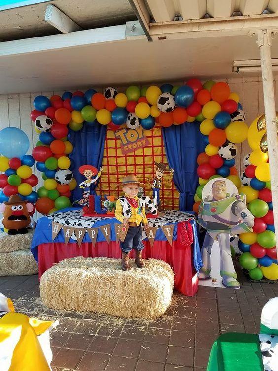 Fiesta Temática De Toys Tory 4 Decoración Para Tu Fiesta