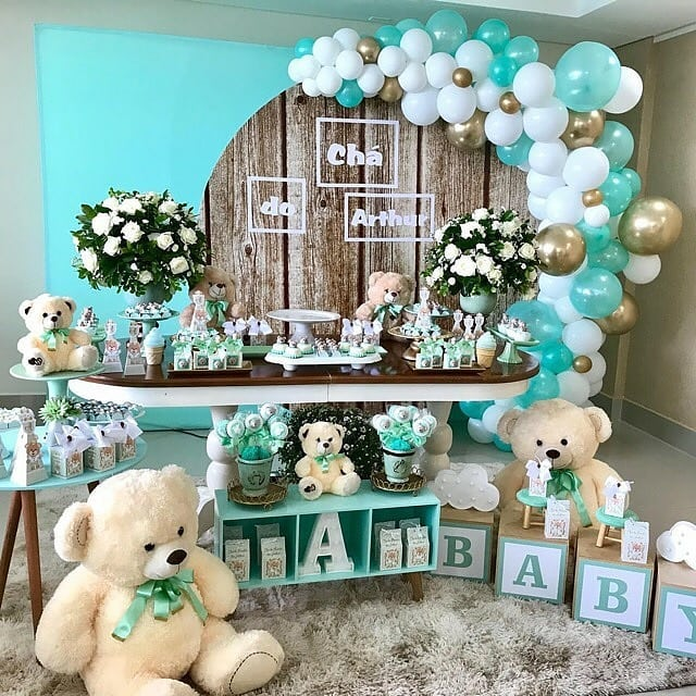 decoracion baby shower de osos