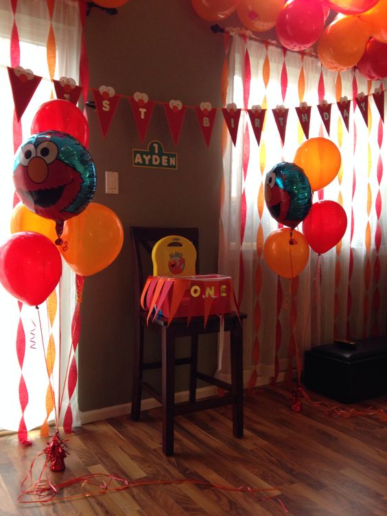 decoracion de cumpleaños para salon de clases