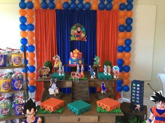 decoracion de fiesta dragon ball super broly