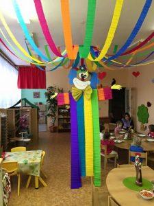 Decoracion Dia Del Niño Con Tiras De Papel Ideas Para Las