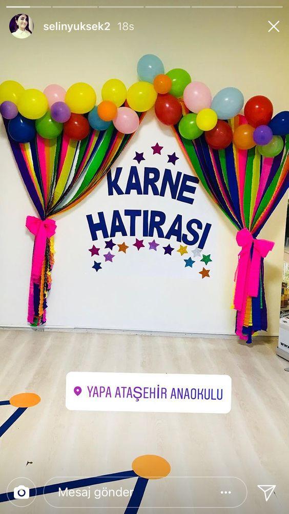 decoracion dia del niño con tiras de papel