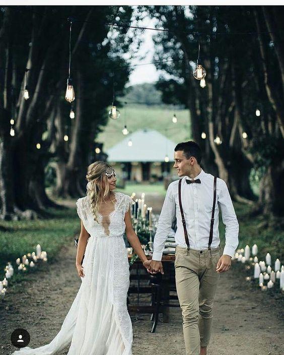 decoracion para boda civil en jardin
