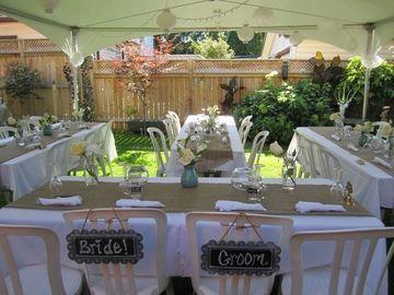 decoracion para boda civil sencilla en casa